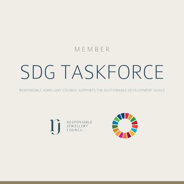 RJC supports SDG Taskforce